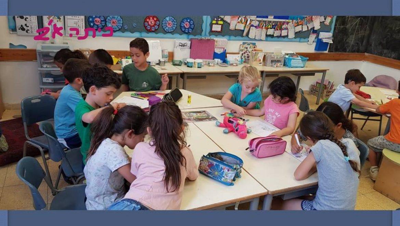 ילדי הגנים מבקרים ביובלי הנגב