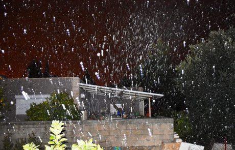 שלג בדרום הר חברון 18.2.21